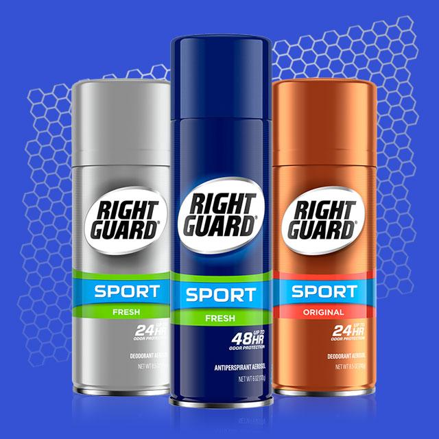 Right Guard®   No Sweat Deodorant